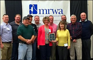 The Old Town Water District was recently honored with the Ronald R. Boivin Memorial Award for Outstanding Water Operations